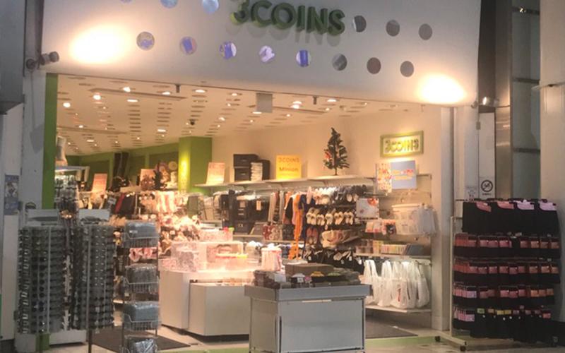 店舗 3 コインズ
